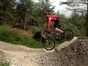 Martyn Hodgson mountain biking