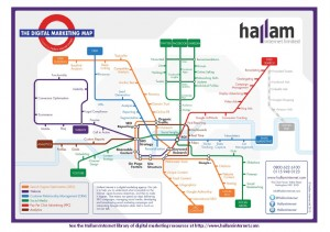 Hallam Internet Digital Marketing Map