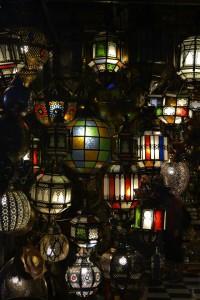 Morocco lights